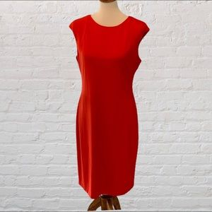 Orange Vince Camino Dress Size 12